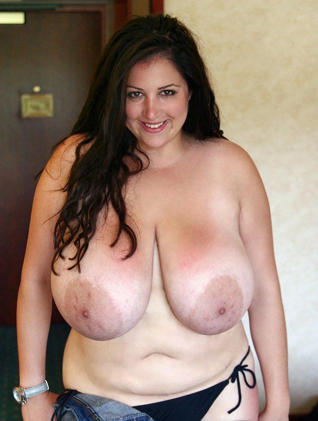 Aréoles de gros seins